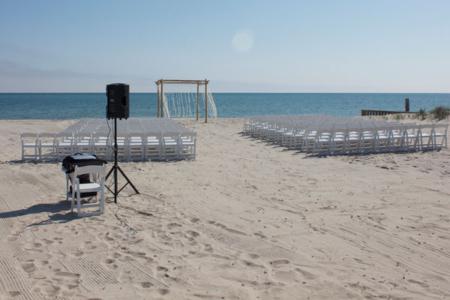 Beach Wedding Ceremony Audio Visual