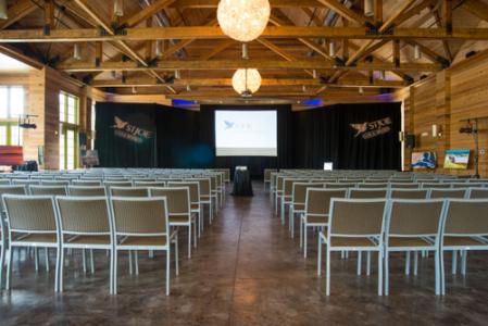 Business Meeting AV Setup