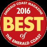 Voted Best 2016 by Emerald Coast Magazine