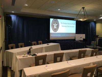 WaterColor Inn Conference Meeting AV